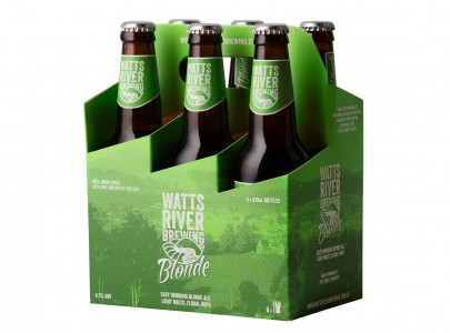 blonde 6 pack watts river brewing