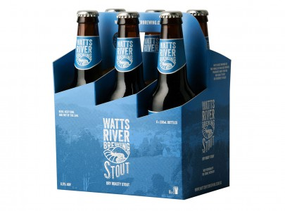 stout 6 pack watts river brewing