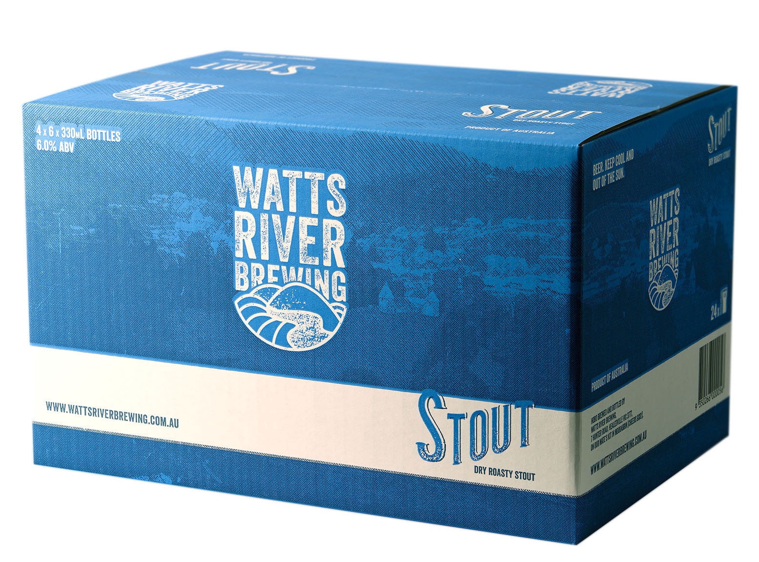 stout case watts river brewing